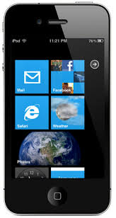 Windows Phone 7 Theme for iPhone With Live Tiles iClarified
