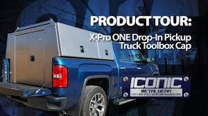 X-Pro ONE Drop-In Aluminum Commercial Truck Cap/Pack - YouTube