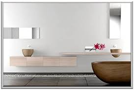 infrarot spiegelheizung 210 watt 60 x 40 cm als design
