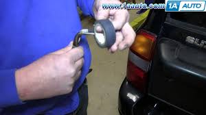 how to change service license plate light bulb