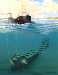 What Year Did The Edmund Fitzgerald Sank by Above And Below The John B Cowle Sank In Lake Superior On
