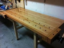 tommy u0027s wall mounted folding workbench the wood whisperer