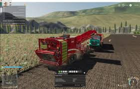 100 Truck And Tractor Pulling Games Empty Combine Tractortruck Stays In Unharvested Area And