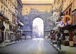 Paris Cityscapes Streets Vintage France Urban People Europe