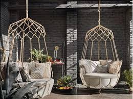Steel Garden Hanging Chair GRAVITY