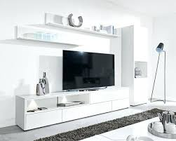 White Tv Unit Living Room Cabinets Pine Furniture For