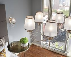 Decorating Awesome Five Light Chandelier By Feiss Lighting With