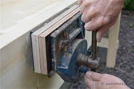 how to build a workbench u2013 fitting the vise part14 paul
