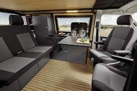 Interior Custom Bus Volkswagen T6 Camper 2017 Inside Vw