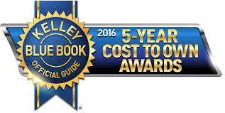 2016 5-Year Cost To Own Award Winners Announced By Kelley Blue Book