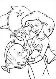 Download The Little Mermaid Coloring Pages 2