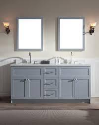 Bathroom Double Vanity Dimensions by Ariel Hamlet 73
