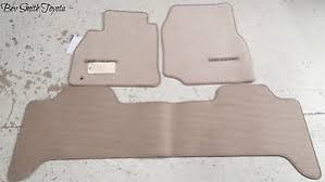 Scion Tc Floor Mat Clips by New Oem Toyota Land Cruiser Ivory Tan Carpet Floor Mats