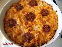 recette de gratin de pâtes à la tomate