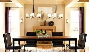 Dinner Table Lighting Large Size Of Dining Room With Plug For