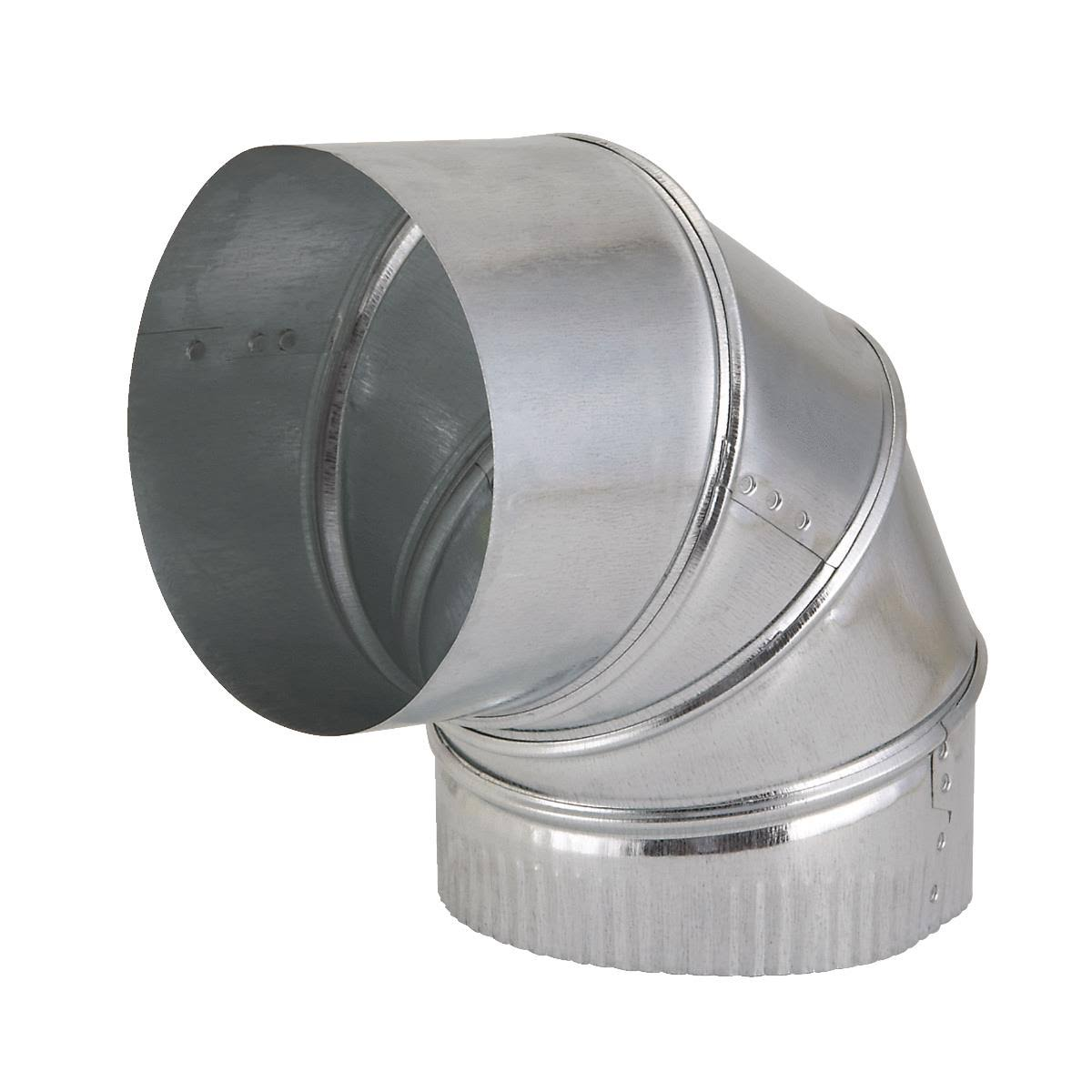 Imperial Manufacturing Group Galvanized Adjustable Elbow - 90 Degrees