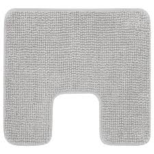 toftbo wc vorleger grauweiß meliert 55x60 cm