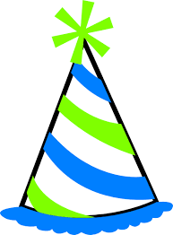 birthday hat transparent background