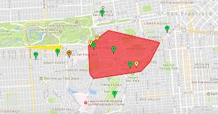 16th Avenue Tiled Steps Address by Thousands Of San Francisco Pg U0026e Customers Lose Power Sunday