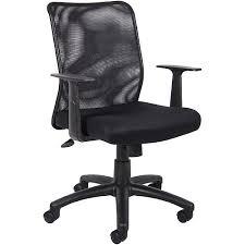 Fabric Task Chair Walmart by Boss Office Products Black Budget Task Chair Walmart Com