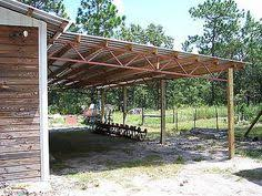 Metal Loafing Shed Kits by 16x24 Run In Shelter Loafing Shed With Steel Truss And Metal