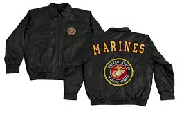 marine corps leather jacket apparel military pride online