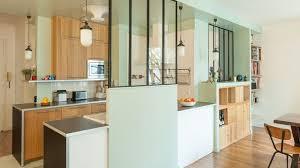 cuisines semi ouvertes sur le salon ou la salle à manger côté maison
