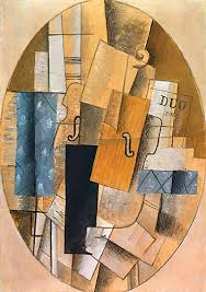 Picasso Still Life With Chair Caning Analysis by Characteristics Of Cubism Information On Who Invented Cubism And