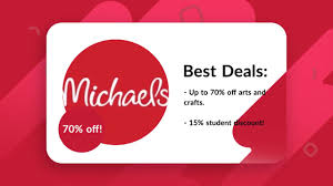 15-50% - Michaels Stores Student Discount/Coupons! Michaels Flyer 11292019 11302019 Weeklyadsus 5 Off Any Purchase 40 Off 1 Item Coupons Coupon Code Promo Up To 70 Cypress Ski Hill Save Up 60 On Rolling Storage Carts At The Pinned February 10th 50 A Single Item How Money Mymichaelsvisit Wwwmymichaelsvisitcom Survey Get 25 Thpacestoremichaelscoupon Team Shirts Coolmine Community School Entire Cluding Sale Items Coupon Free 2018 Iphone Beaver Coupons