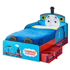 Thomas The Tank Engine Bedroom Decor by Thomas U0026 Friends Mdf Toddler Bed With Storage New Tank Engine Boys