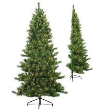 7 Ft White Pre Lit Christmas Tree by 7 Ft Pre Lit Christmas Trees Artificial Christmas Trees The