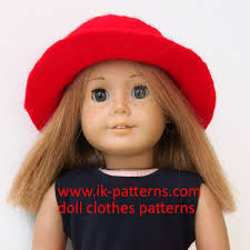 18 Inch Doll Patterns Dress Skirt And Top Patterns To Fit Etsy