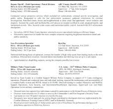 Remarkable Sample Resume For Government Employment Templates Job In Example Resumes