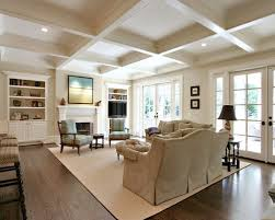 Inspiration For A Timeless Dark Wood Floor And Brown Living Room Remodel In Atlanta With