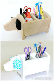 DIY Dog Caddy Want One For Desk At School And Sewing Room Too Cool
