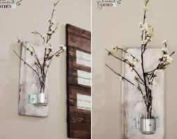 Vase Home Decor Exquisite Diy Rustic Indoor Decorative Flower Wall Panel Decoration Ideas Stunning Inspiration Astounding Decorating