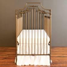 Bratt Decor Joy Crib Black by Loft Living Featuring Black Joy Iron Crib All White Bedding
