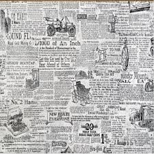 Beibehang Custom Large Scale Murals Retro Black And White Newspaper TV Background Wall Decoration Painting Wallpaper In Wallpapers From Home Improvement On