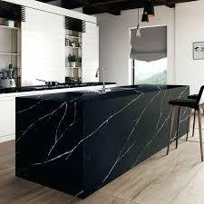 quartz cuisine plan travail cuisine quartz silestonear eternal marquina plan de