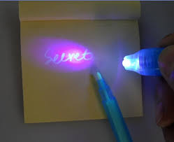 Security UV Invisible Ink Pen with UV Black Light 100pcs lot 4