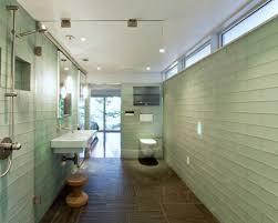 green glass subway tile houzz