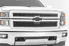 Mesh Replacement Grille For 2014-2015 Chevrolet Silverado 1500 ... 2015 Chevrolet 2500 Hd Beginners Luck How To Install A Phantom Billet Grill On Chevy C10 Youtube Front End Dress Up Kit With 7 Single Round Headlights 1973 2017 Silverado 1500 Status Custom Truck Accsories Cctp130501o1956chevroruckcorvettegrille Hot Rod Network Stull Overlay Grille 2006 2500hd Install Trex 2014 Grilles Available Now Stillen Garage Lifted Super Gallery Photos Mycarid 6211270 Main Laser