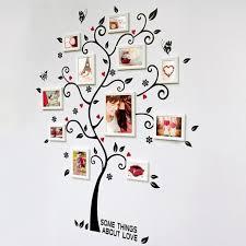 l arbre a cadre sticker mural murale arbre cadre photo de famille achat vente