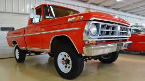1971 Ford F-100 Sport Custom 4X4 Pickup Stock # K03389 For Sale Near ... 1971 Ford Truck Preliminary Shop Service Manual Original Bronco F Buy A Classic Rookie Garage F250 Heater Control Valve The Fordificationcom Forums File1971 F100 Sport Custom Pickup 209619880jpg Ranchero By Vertualissimo Awesome Rides Pinterest Mustang Shelby Mach 1 Tribute 2 Door 350 Wiring Diagram Simple Electronic Circuits It May Not Be Red But This Is A Fire Hot Rod 390 V8 C6 Trans 90k Miles Clean Proves That White Isnt Always Boring Fordtruckscom