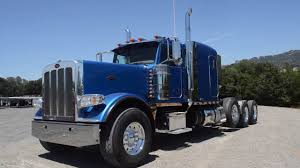 100 Tri Axle Heavy Haul Trucks For Sale 2013 Peterbilt 389 Longhood Sleeper Charter