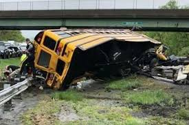 School Bus And Truck Collide On New Jersey Highway | 4conservative.com Truck Accident Lawyer Nj Have You Been Injured In A Teacher Student Killed Horrific Accident Volving School Bus Driver Tanker Truck On New Jersey Turnpike Two Dead As Crashes With Triaxle Dump Collides And Overturns Onto Vehicle Sending Fedex Tractor Trailer Overturns Snarling Traffic Man Dies Crash With Ctortrailer Police Nbc Company Involved Deadly Crash Has Causes Big Delays On Route 78 Cbs Local Deli Meat Collides Bread Highway Mount Olive 80 School Dump