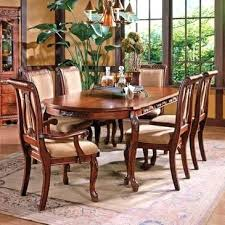 Oval Dining Room Sets Silver Harmony 7 Piece Set In Cherry Table With Butterfly Leaf For 8 Dimensions