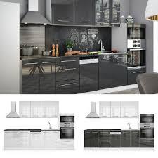vicco küche s line küchenzeile küchenblock einbauküche 295