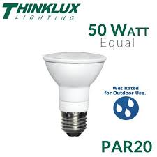 Thinklux LED PAR20 7 5 Watts 50 Watt Equal Dimmable