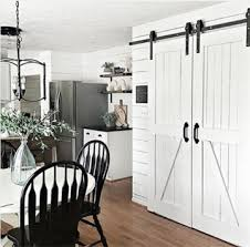 Double Door Barn Door Hardware Kit